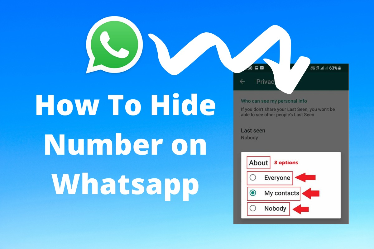 How To Hide Number on Whatsapp