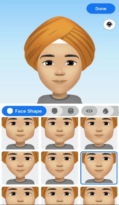 choose your face shape