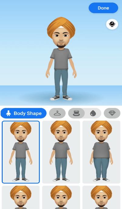 select body shape