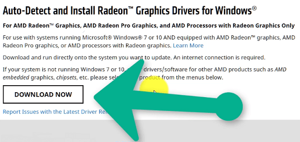AMD auto-detect software
