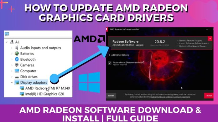How To Update and Download AMD Drivers