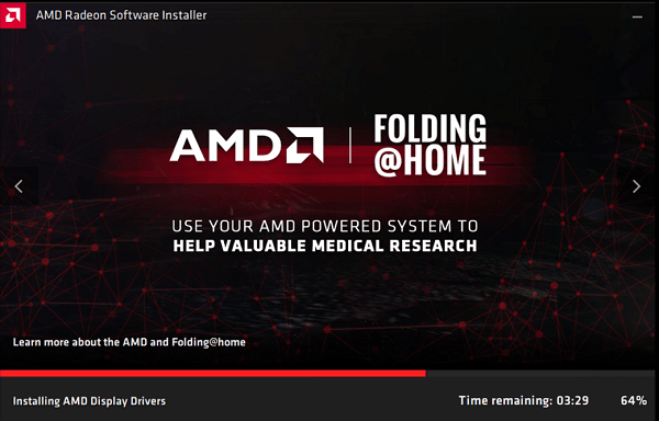 installing AMD drivers